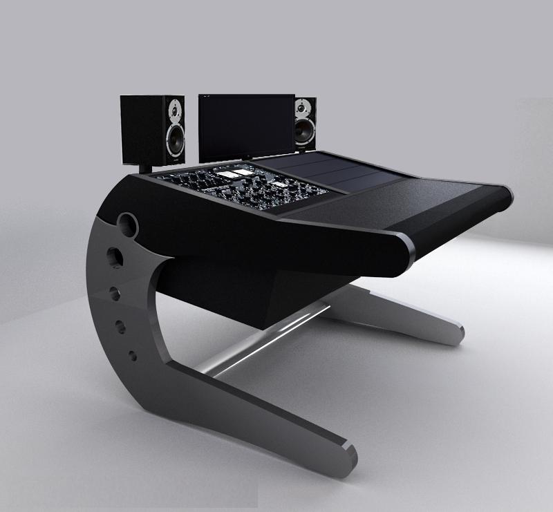 Modson eclipse universal workstation - Meuble de studio d enregistrement ...
